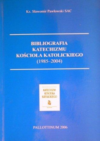 Bibliografia Katechizmu Kościoła - okładka książki