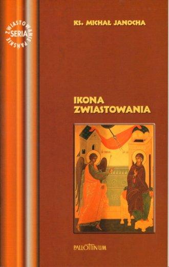 Ikona Zwiastowania - okładka książki
