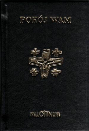 Pokój Wam. Modlitewnik (czarny) - okładka książki