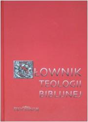 Słownik teologii biblijnej - okładka książki