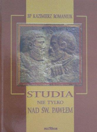 Studia nie tylko nad św. Pawłem - okładka książki