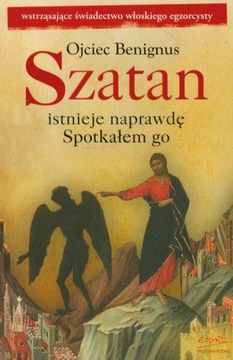 Szatan istnieje naprawdę. Spotkałem - okładka książki