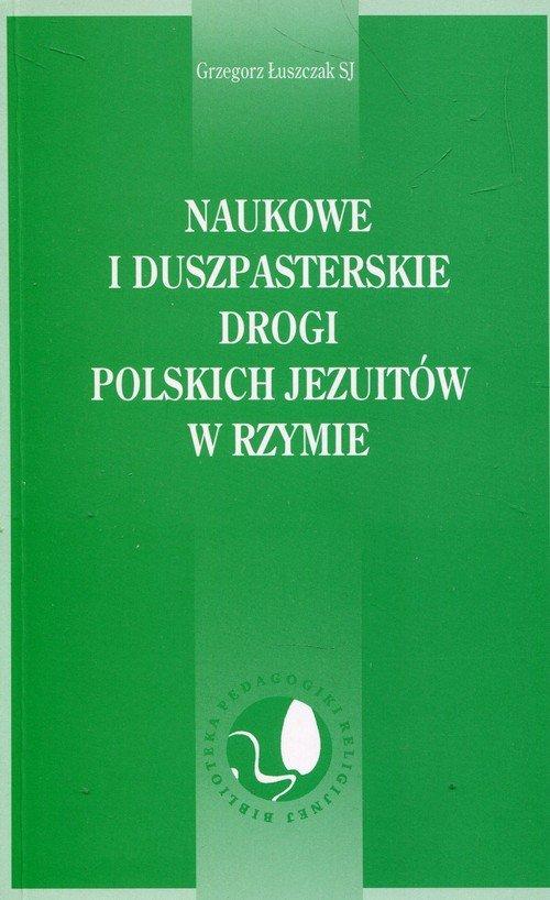 Naukowe i duszpasterskie drogi - okładka książki