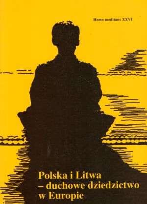 Polska i litwa - duchowe dziedzictwo - okładka książki