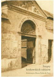 Szepty krakowskich rabinów - okładka książki