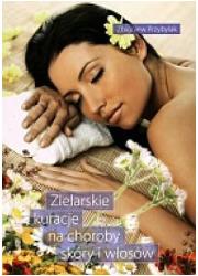 Zielarskie kuracje na choroby skóry - okładka książki