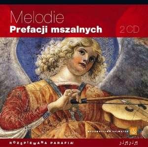 Melodie prefacji mszalnych - pudełko audiobooku