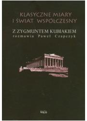 Klasyczne miary i świat współczesny - okładka książki