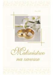 Małżeństwo na zawsze - okładka książki