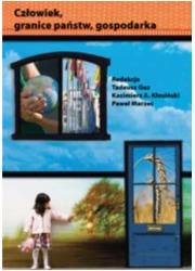 Człowiek, granice państw, gospodarka - okładka książki