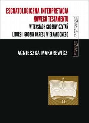Eschatologiczna interpretacja Nowego - okładka książki