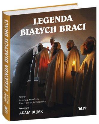 Legenda Białych Braci - okładka książki