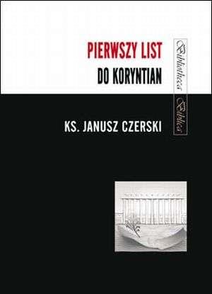 Pierwszy List do Koryntian - okładka książki