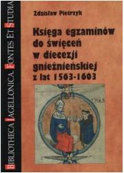 Księga egzaminów do święceń w diecezji - okładka książki