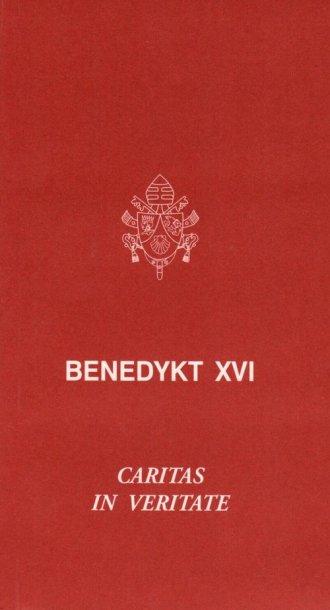 Caritas in veritate - okładka książki