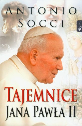 Tajemnice Jana Pawła II - okładka książki