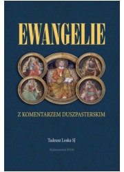 Ewangelie z komentarzem duszpasterskim - okładka książki