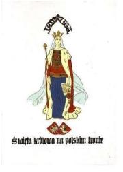 Jadwiga. Święta królowa na polskim - okładka książki