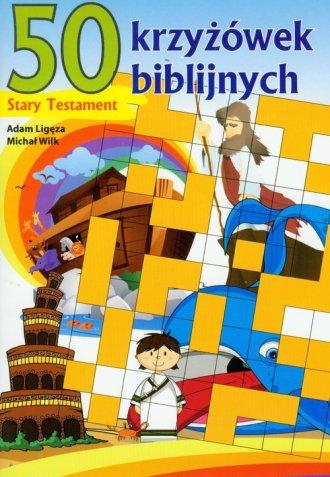 50 krzyżówek biblijnych. Stary - okładka książki