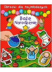 Boże Narodzenie. Obrazki dla najmłodszych. - okładka książki