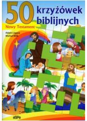 50 krzyżówek biblijnych. Nowy Testament - okładka książki
