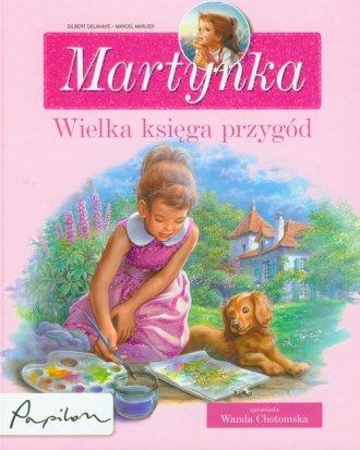 Martynka. Wielka księga przygód - okładka książki