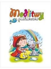 Modlitwy przedszkolaka - okładka książki