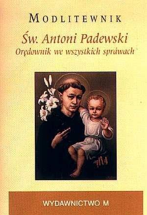 Modlitewnik. Św. Antoni Padewski. - okładka książki