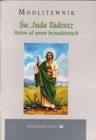 Modlitewnik. Św. Juda Tadeusz. - okładka książki
