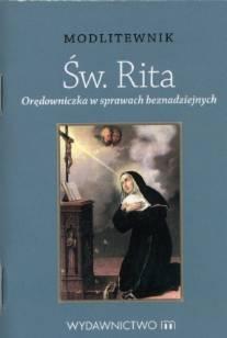 Modlitewnik. Św. Rita. Orędowniczka - okładka książki