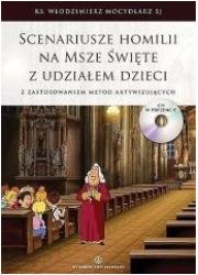Scenariusze homilii na Msze święte - okładka książki
