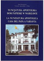 Nuncjatura Apostolska. Dom Papieski - okładka książki