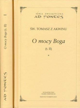 O mocy Boga. Tom 2. (cz.1 i 2). - okładka książki