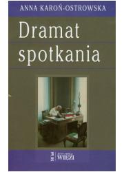 Dramat spotkania - okładka książki