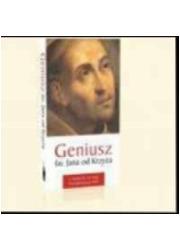 Geniusz św. Jana od Krzyża - okładka książki