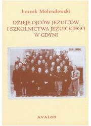 Dzieje ojców Jezuitów i szkolnictwa - okładka książki