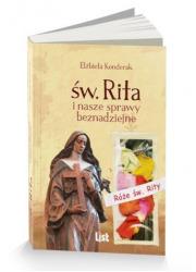 Św. Rita i nasze sprawy beznadziejne - okładka książki