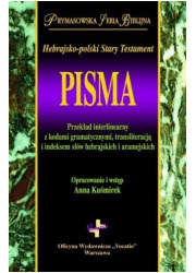 Pisma. Hebrajsko-polski Stary Testament - okładka książki
