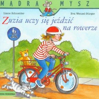 Mądra mysz. Zuzia uczy się jeździć - okładka książki