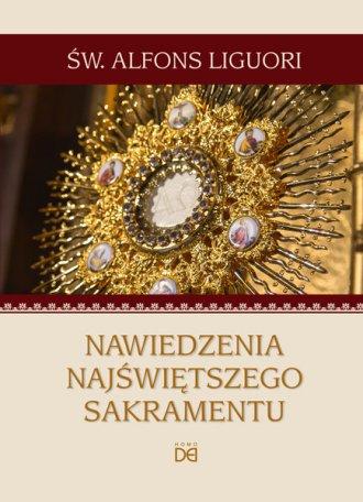 Nawiedzenia Najświętszego Sakramentu - okładka książki