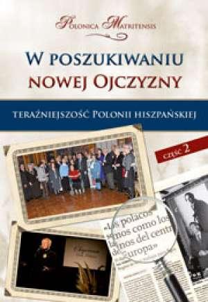 W poszukiwaniu nowej Ojczyzny. - okładka książki
