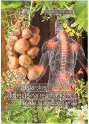 Zielarskie kuracje na reumatyzm, - okładka książki