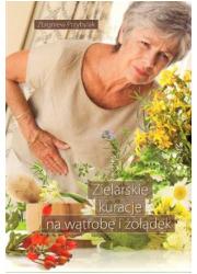 Zielarskie kuracje na wątrobę i - okładka książki