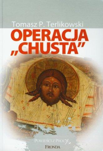 Operacja Chusta - okładka książki