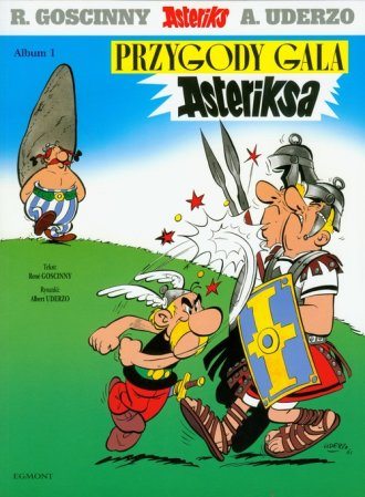 Asteriks. Album 1. Przygody Gala - okładka książki