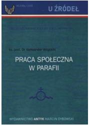 Praca społeczna w parafii - okładka książki