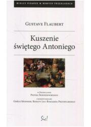 Kuszenie św. Antoniego - okładka książki