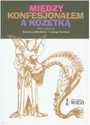 Między konfesjonałem a kozetką - okładka książki
