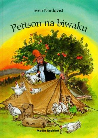 Pettson na biwaku - okładka książki