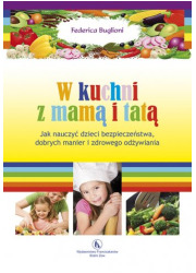 W kuchni z mamą i tatą - okładka książki